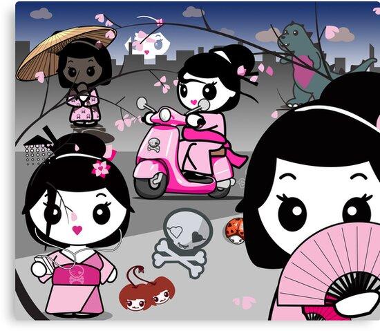 mikoto's Geishas by mikoto