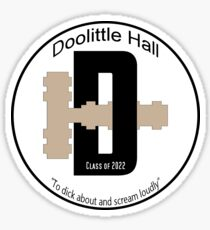 Doolittle Hall Crest Sticker