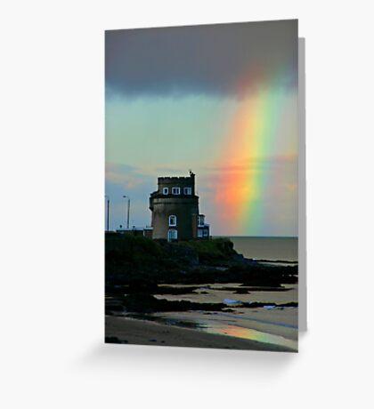 Rainbow Martello Greeting Card