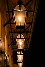 Gas Lamps down in the Quarter by Sun Dog Montana
