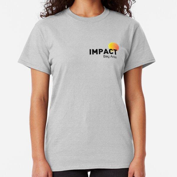 IMPACT Logo, Black Text + Tagline Classic T-Shirt
