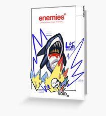 ENEMIES Greeting Card