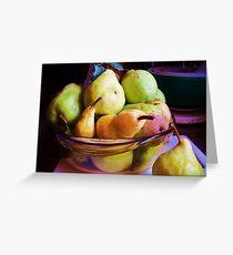 Pears Greeting Card