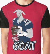 Tom Brady - The GOAT Graphic T-Shirt