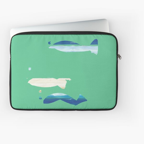 Expressive Fishes Laptop Sleeve