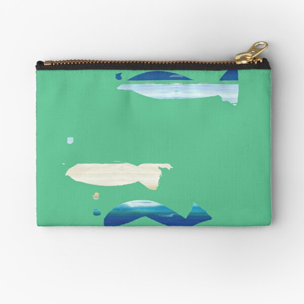 Expressive Fishes Zipper Pouch