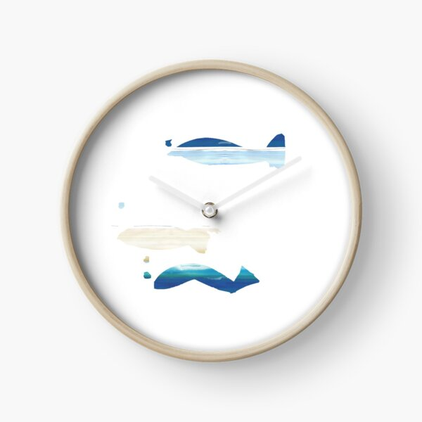 Expressive Fishes Clock