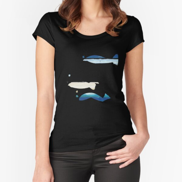 Expressive Fishes Fitted Scoop T-Shirt