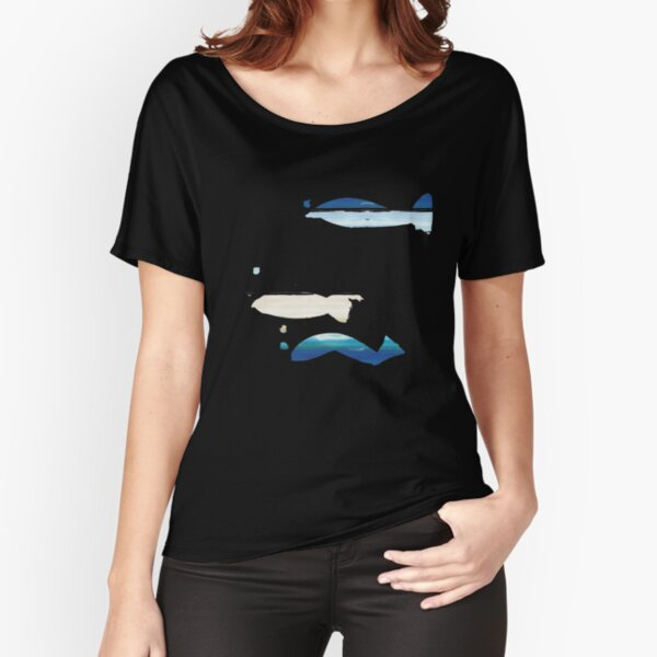 Expressive Fishes Relaxed Fit T-Shirt