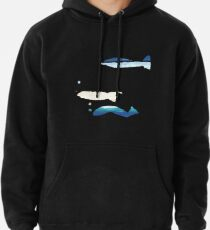 Expressive Fishes Hoodie