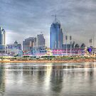 Downtown Cincinnati by Jeremy Lankford