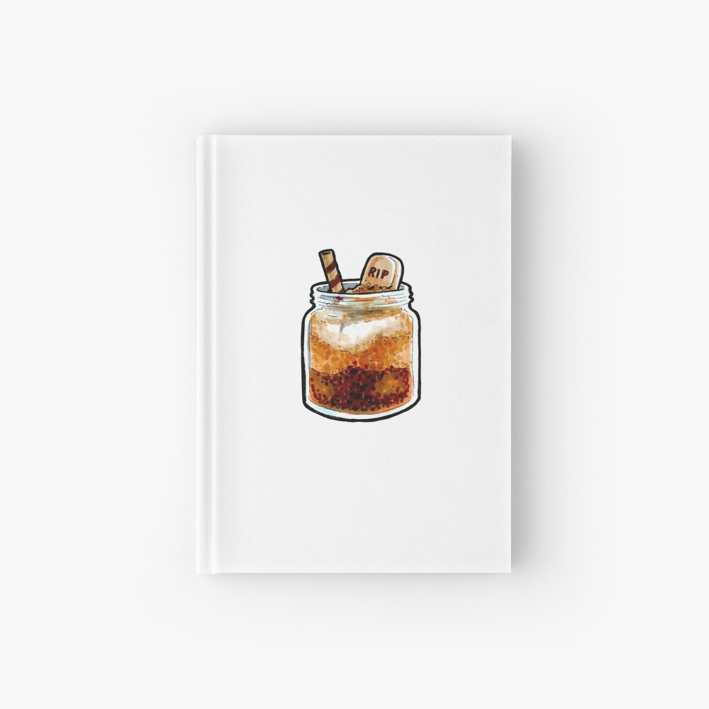 RIP Jar Cake Hardcover Journal