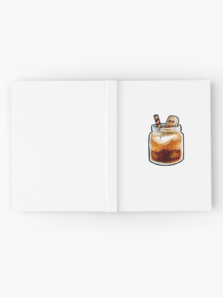 Alternate view of  RIP Jar Cake Hardcover Journal
