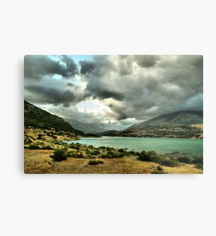 Obscured by clouds. Metal Print