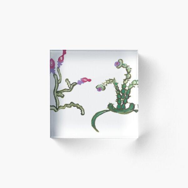 Ugly But Happy Plants Acrylic Block