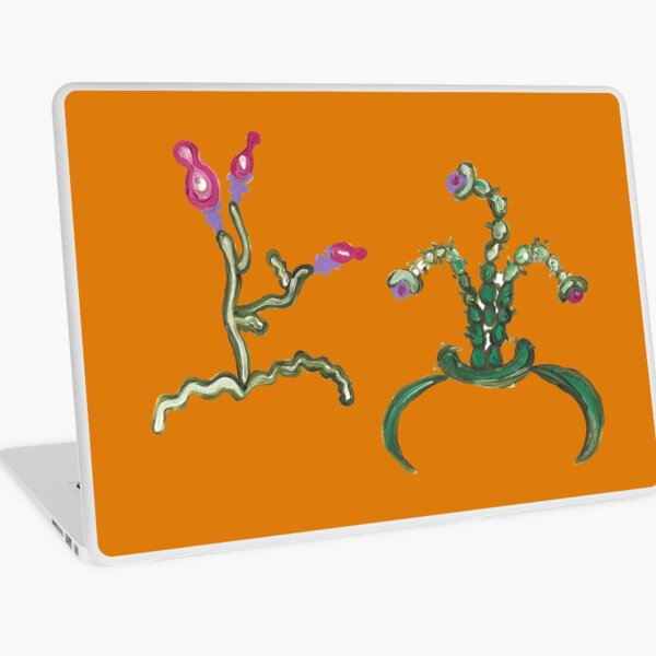 Ugly But Happy Plants Laptop Skin