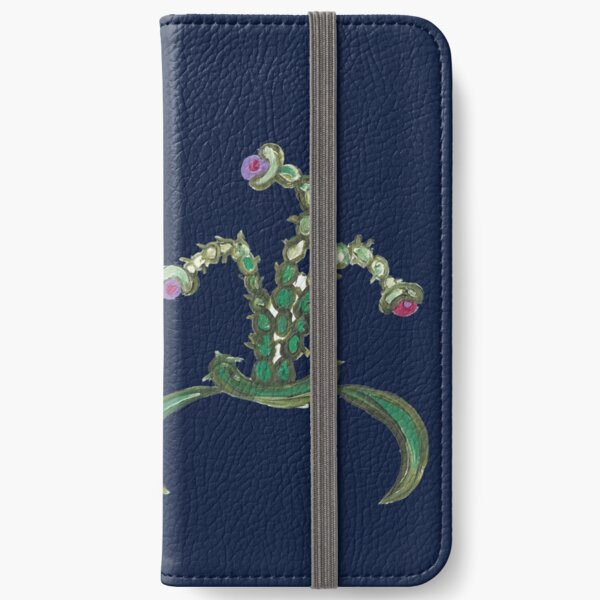 Ugly But Happy Plants iPhone Wallet