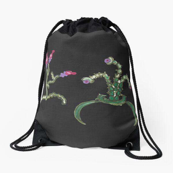 Ugly But Happy Plants Drawstring Bag