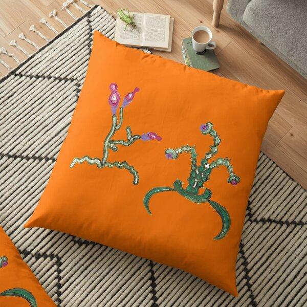 Ugly But Happy Plants Floor Pillow