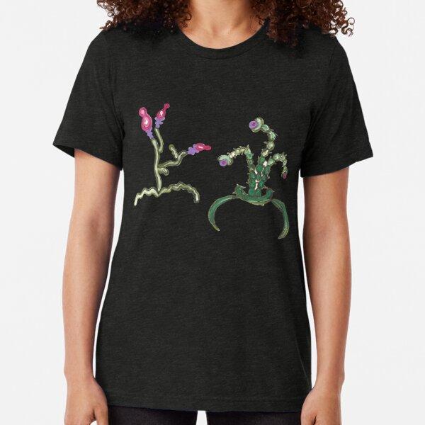 Ugly But Happy Plants Tri-blend T-Shirt