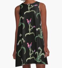 Ugly But Happy Plants A-Linien Kleid