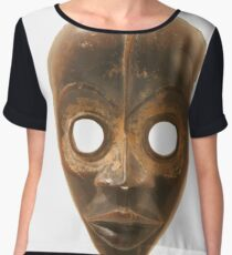 #Face #FaceMask #Mask #artifact #food #one #stilllife #old #container #vertical #vibrantcolor #colorimage #nopeople #oldfashioned #retrostyle #clothing #Halloween #HalloweenCostume Chiffon Top