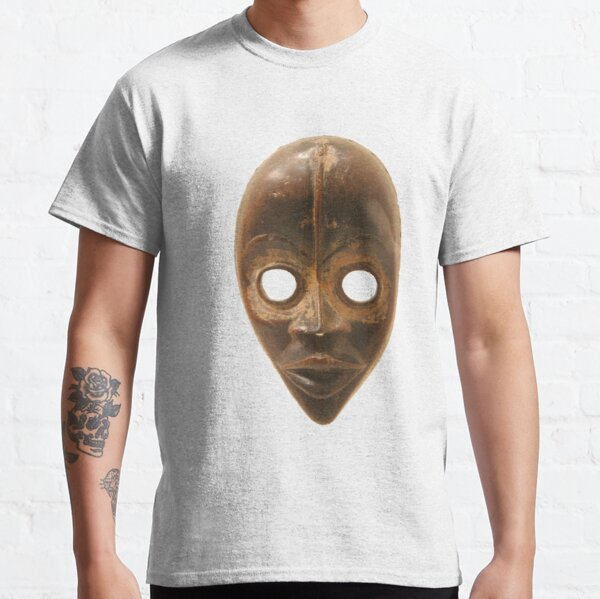#Face #FaceMask #Mask #artifact #food #one #stilllife #old #container #vertical #vibrantcolor #colorimage #nopeople #oldfashioned #retrostyle #clothing #Halloween #HalloweenCostume Classic T-Shirt