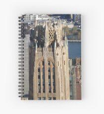 Cuaderno de espiral Vista aérea, Arquitectura clásica, Midtown East, Ciudad de Nueva York