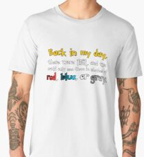 Back In The Day Men's Premium T-Shirt