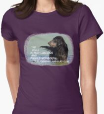 Mud-luscious and puddle-wonderful Women's Fitted T-Shirt