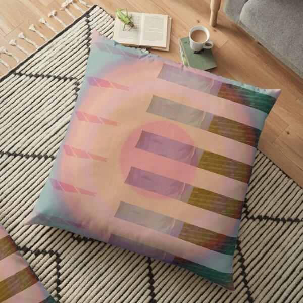 Fragment Floor Pillow