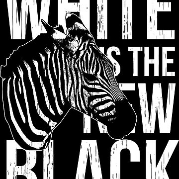 WHITE BLACK ZEBRA by Super3