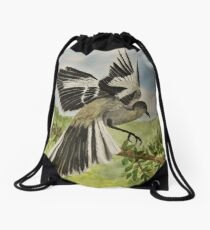 Mockingbird Landing Drawstring Bag