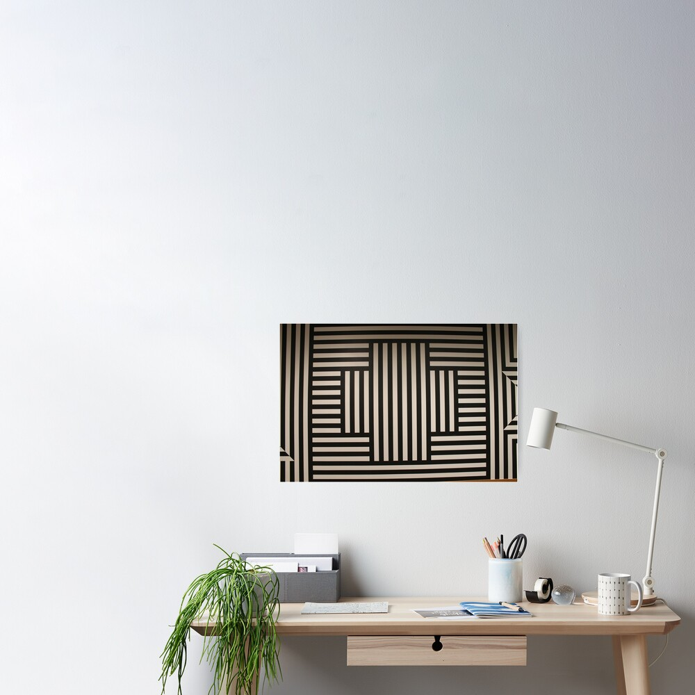 #SolLeWitt #WallDrawing370 #WallDrawing #Wall #Drawing #design #pattern #abstract #decoration #art #horizontal #colorimage #wide #inarow #textured #nopeople #retrostyle #wideshot #wideangle Poster