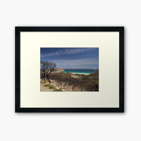 Whisky Bay, Wilsons Promontory. Framed Art Print