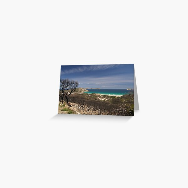 Whisky Bay, Wilsons Promontory. Greeting Card
