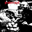 Portrait of Pete the Produce Punk by Pete Janes