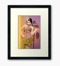 30s Glam III Framed Print