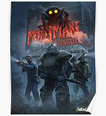 Mothman Museum (  Fallout 76) Poster
