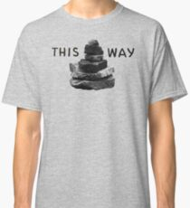 A Cairn Marking the Tail Classic T-Shirt
