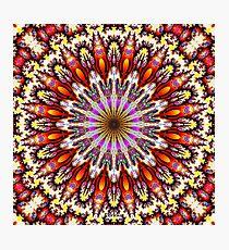 'Inside the Singularity Mandala 2' Photographic Print