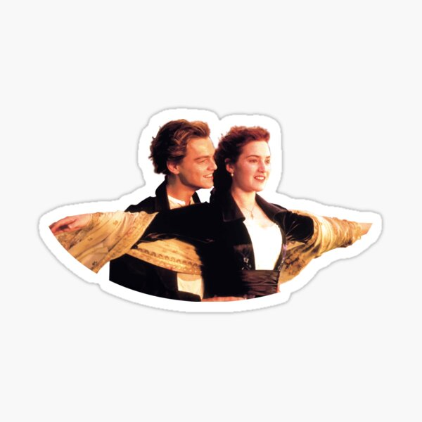 "James Cameron's ""Titanic"" Sticker"