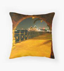 Gateway to Oz Throw Pillow