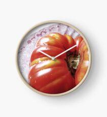 Heirloom Tomato Clock