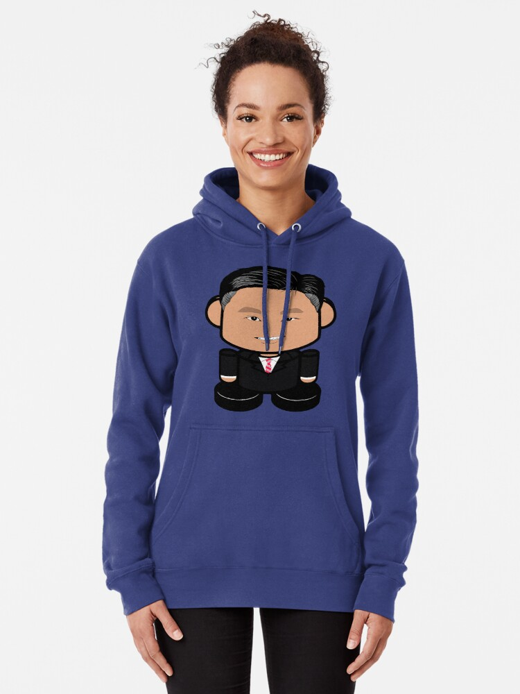 Alternate view of Cali Colonel POLITICO'BOT Toy Robot Pullover Hoodie