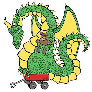 Dragon With a Wagon by bgilbert