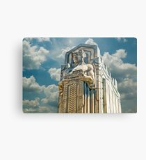 The Guardians of Traffic - Cleveland, Ohio Metal Print