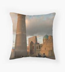 Bukhara, Uzbekistan Throw Pillow