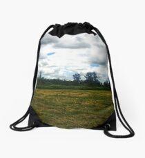 Overcast Oregon Sky Drawstring Bag