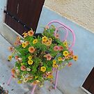 Flowers on a chair by Something-Cosy